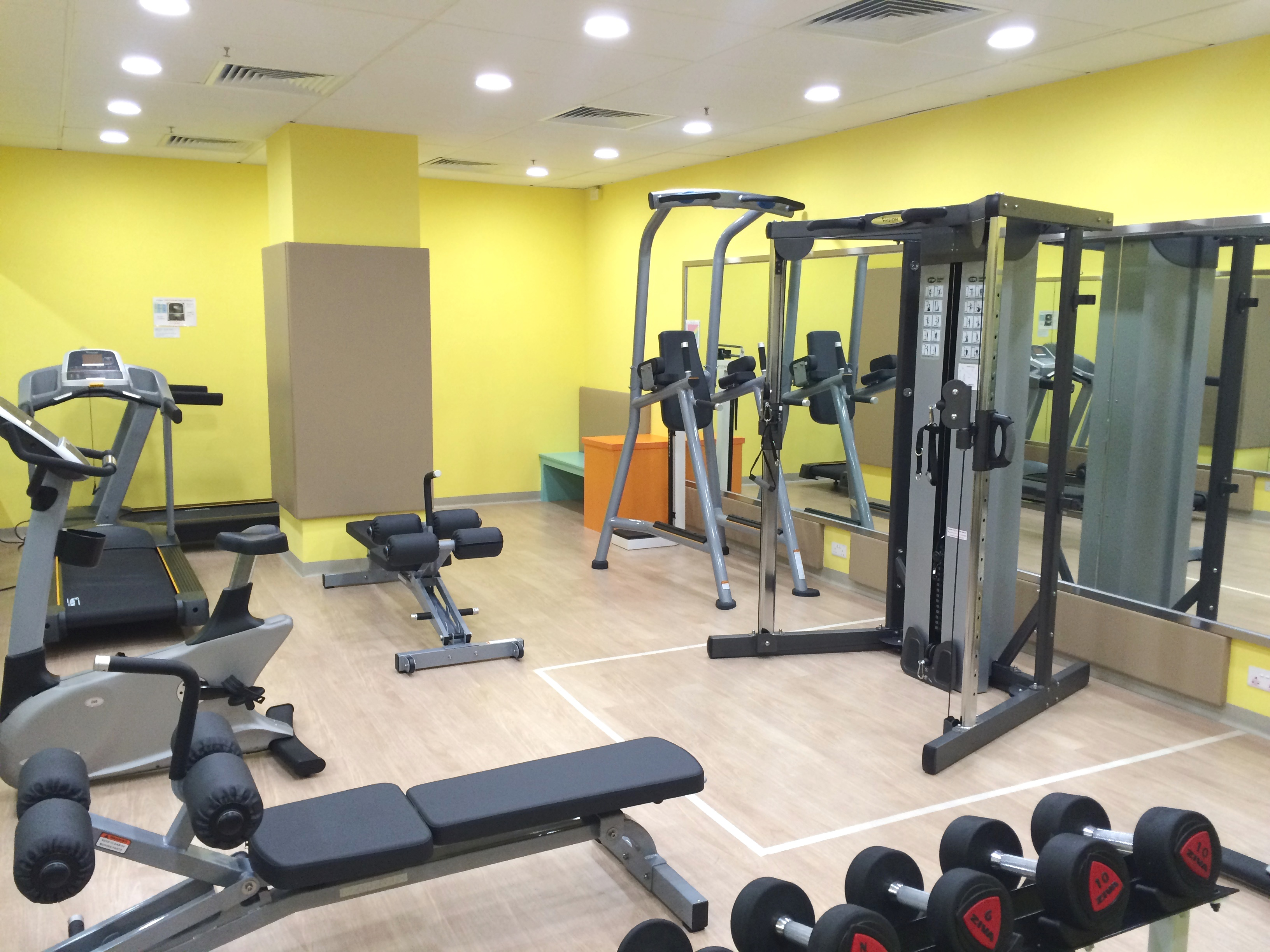 The open university of hong kong fitness room