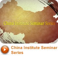 China Institute Seminar Series