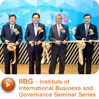 IIBG - Institute of International Business and Governance Seminar Series
