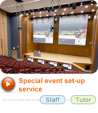 Special event set-up service