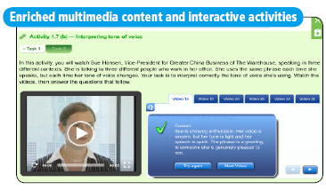 Enriched multimedia content and interactive activities