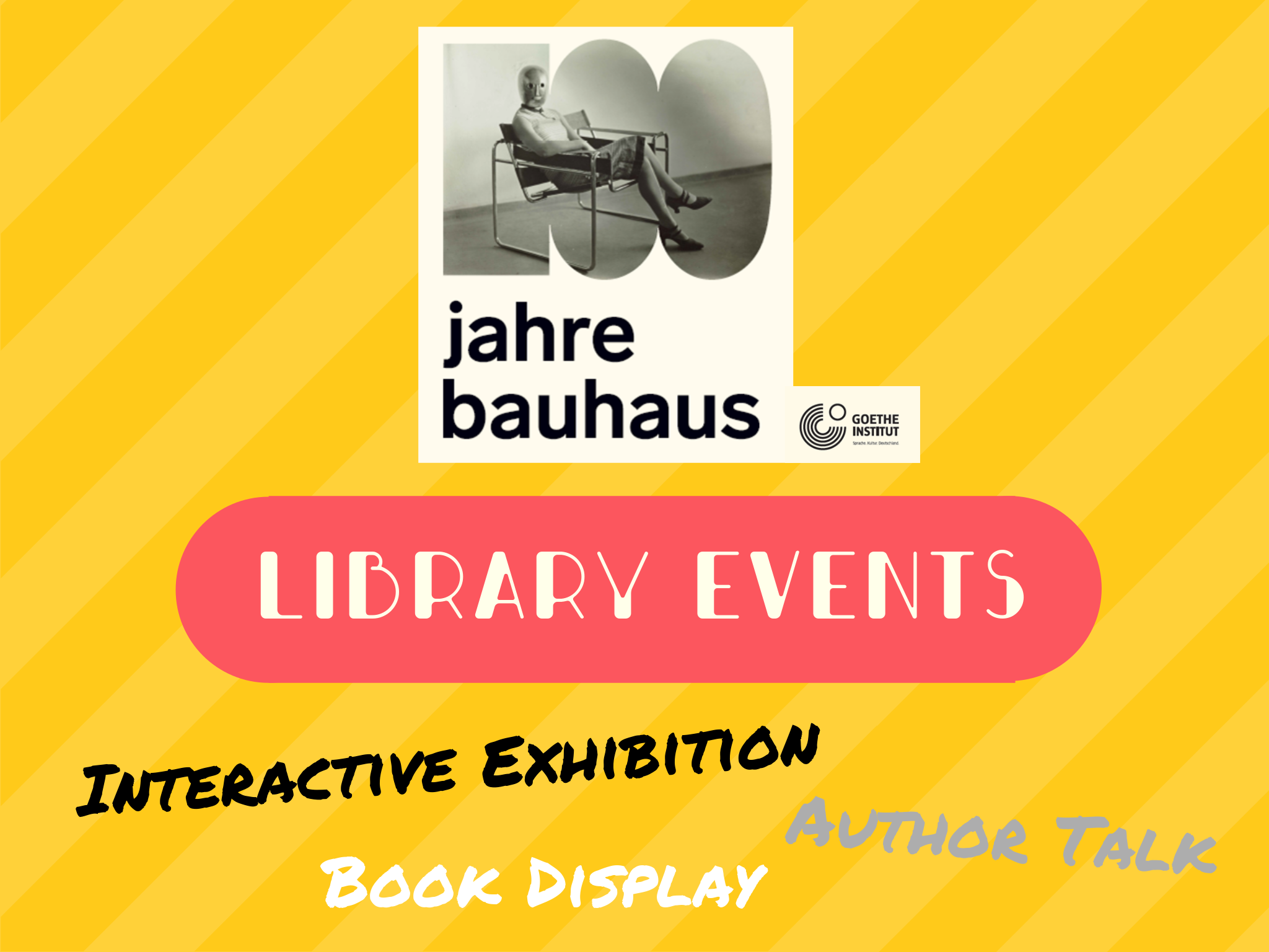 Library Event: 100 Years of Bauhaus