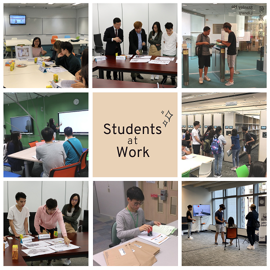 Student Library Assistant Programme training sessions