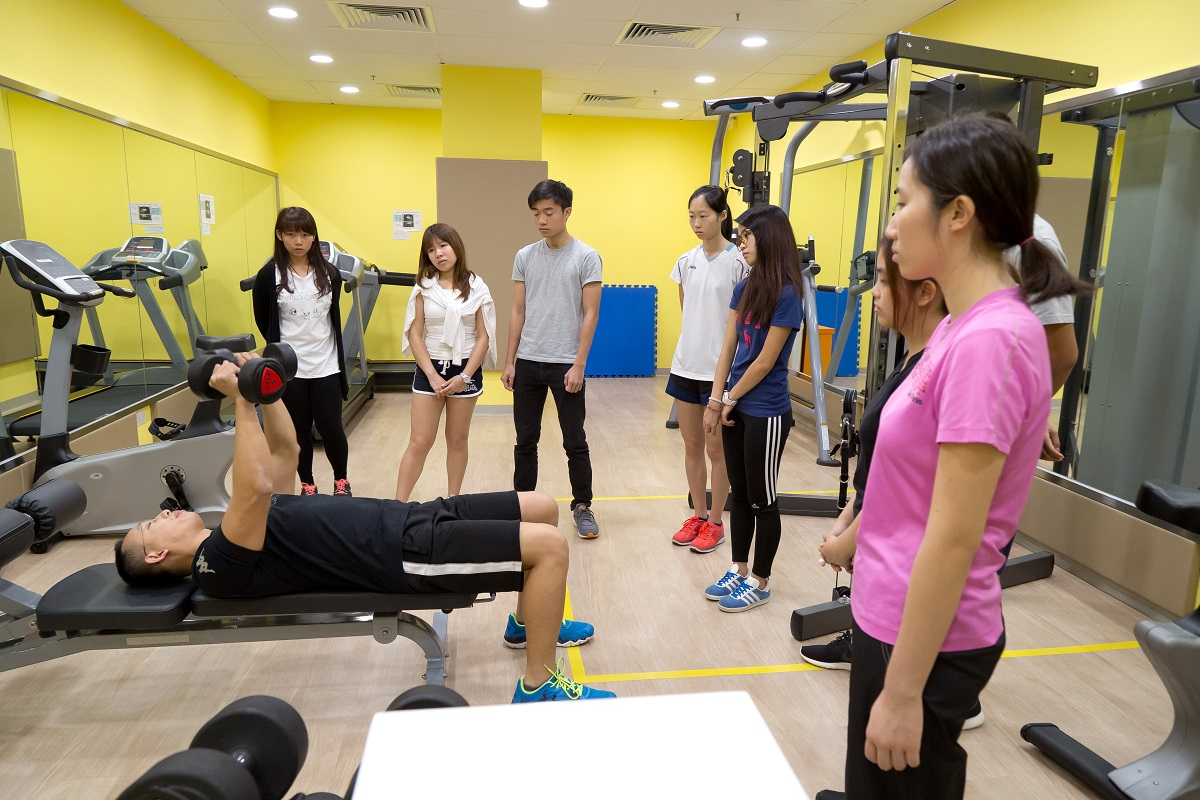 The open university of hong kong fitness courses