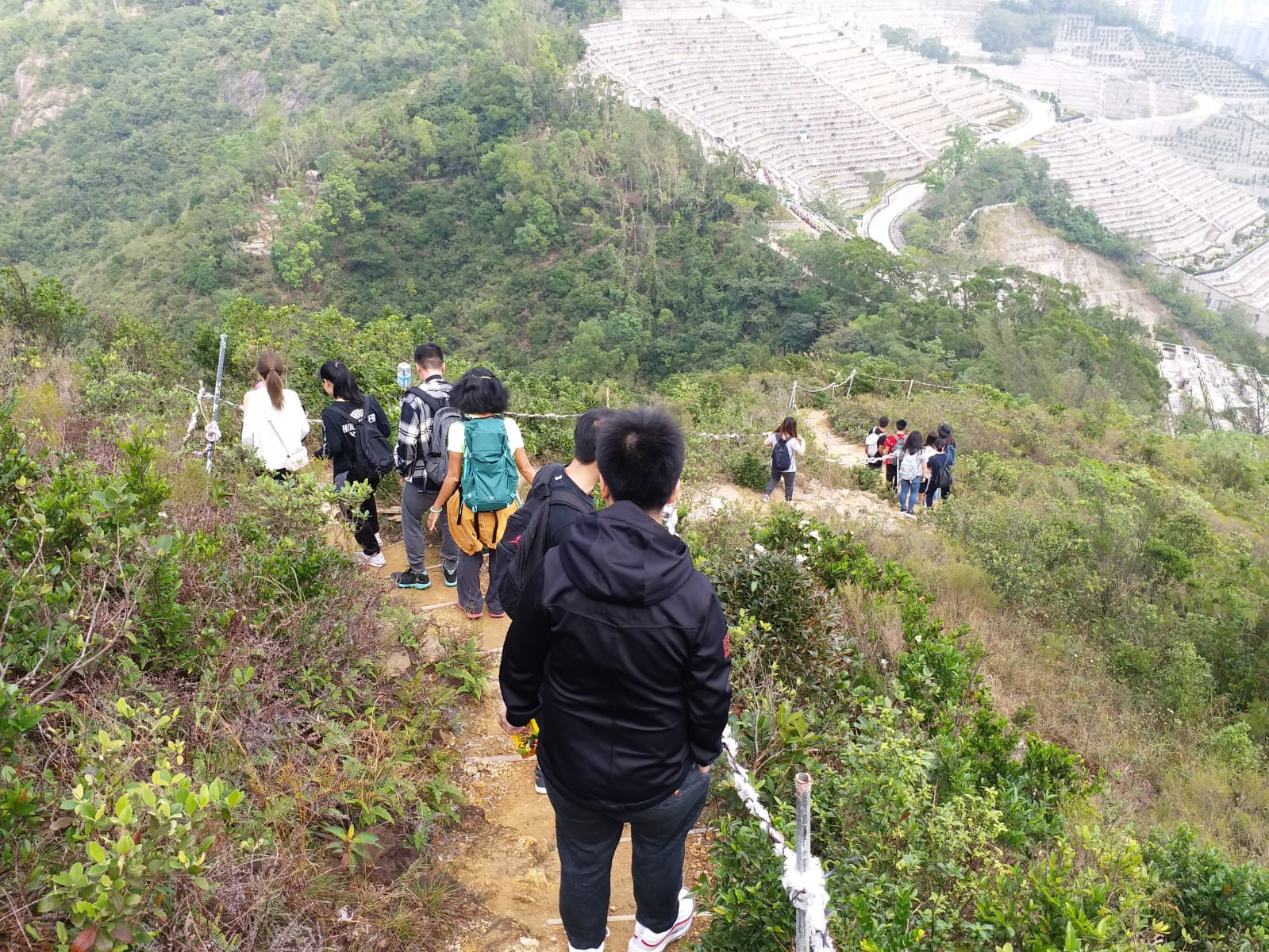 Go Hiking! @ Lei Yun Mun (December 2018)