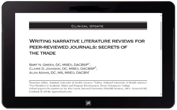 literature review journals