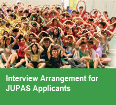 Interview Arrangement for JUPAS Applicants