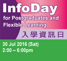 InfoDay for Postgraduates and Flexible Learning