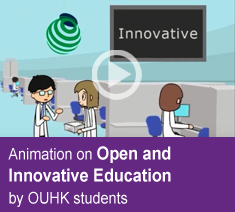 Open and Innovative Education by OUHK Students