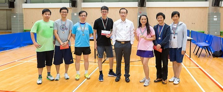 Inter-departmental Table Tennis Competition 2016