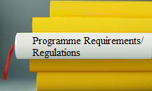 Programme Requirements/Regulations