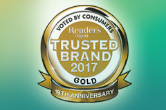 OUHK LiPACE Won Reader's Digest Trusted Brands Gold Award for 3 Consecutive Years