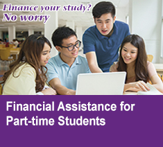 Financial Assistance for Part-time Students