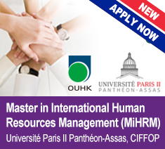 Master in International Human Resources Management