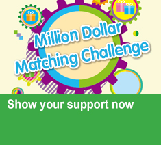 'Million Dollar Matching Challenge' Show your support Relive the event highlights