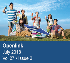 Openlink July 2018 Vol.27 • Issue 2