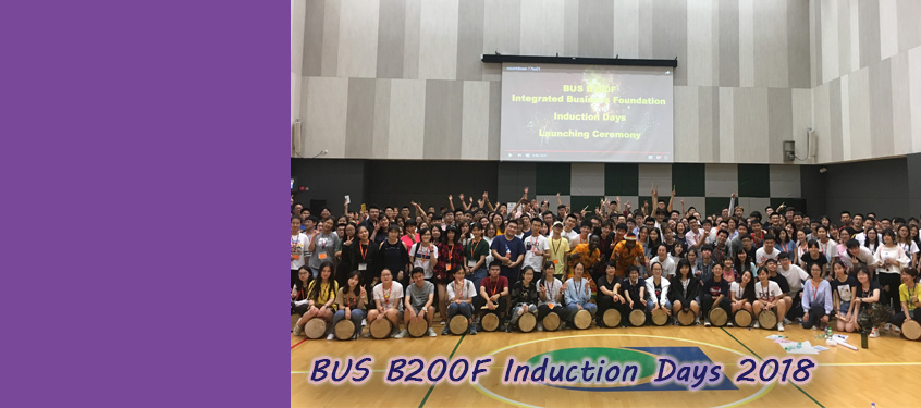 BUS B200F Induction Days 2018