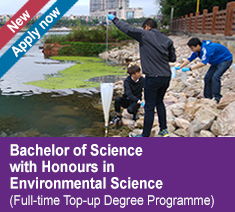 Bachelor of Science with Honours in Environmental Science