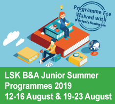 Junior Summer Programme 2019