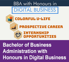 Bachelor of Business Administration with Honours in Digital Business