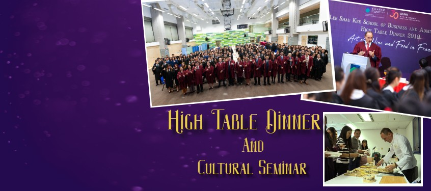 High Table Dinner and Cultural Seminar