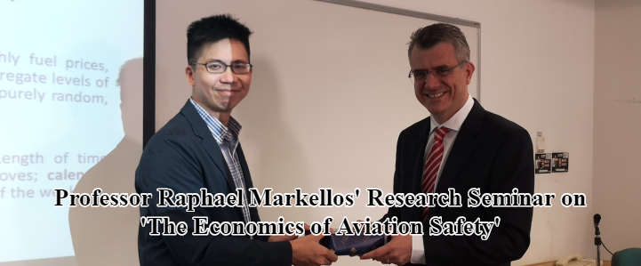 Professor Raphael Markellos' Research Seminar on 'The Economics of Aviation Safety'